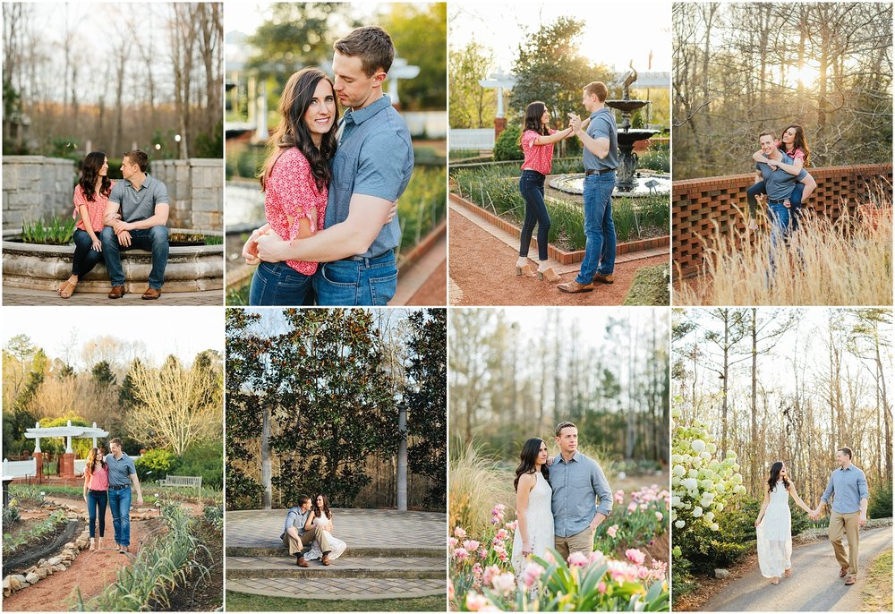 Amanda + Zach - Botanical Garden
