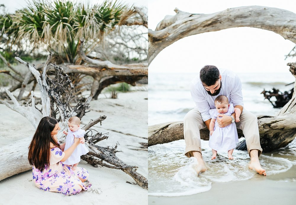 Family - Brittany, Nathan, & harper | driftwood beach