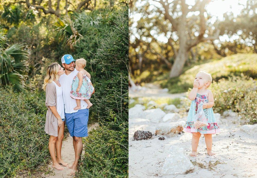 Family - Megan, andrew, & rin   driftwood beach