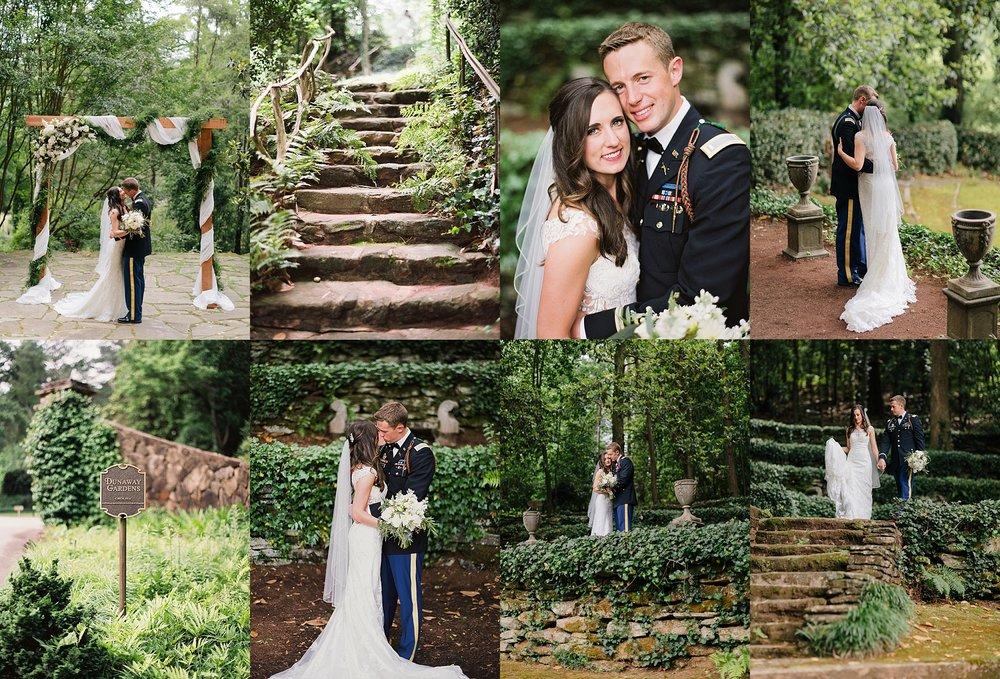 Amanda + Zach - Dunaway Gardens