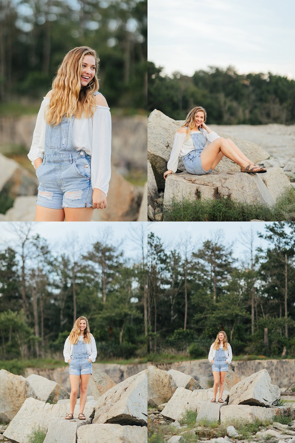 Kelsey Barrineau | Senior Session with Heather Wall Photography