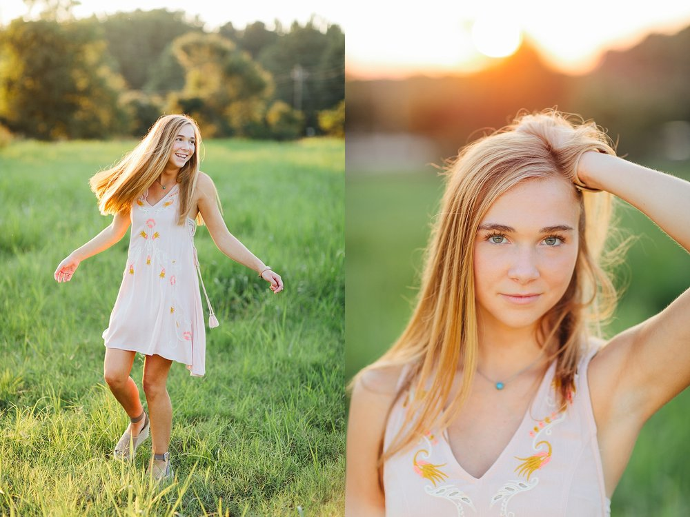 Sally O'Steen | Senior Session with Heather Wall Photography