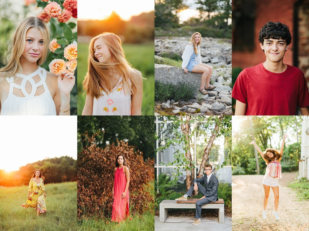 Kate Cowles | Senior Session with Heather Wall Photography