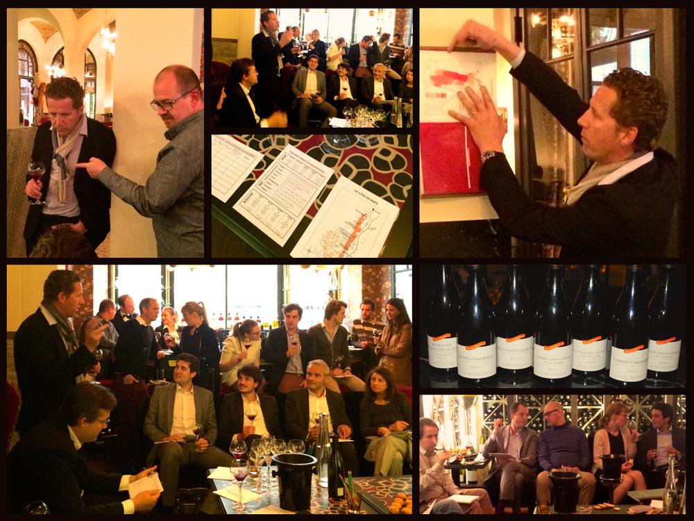 Dégustation Duband - le 29 avril 2015 avec David Duband