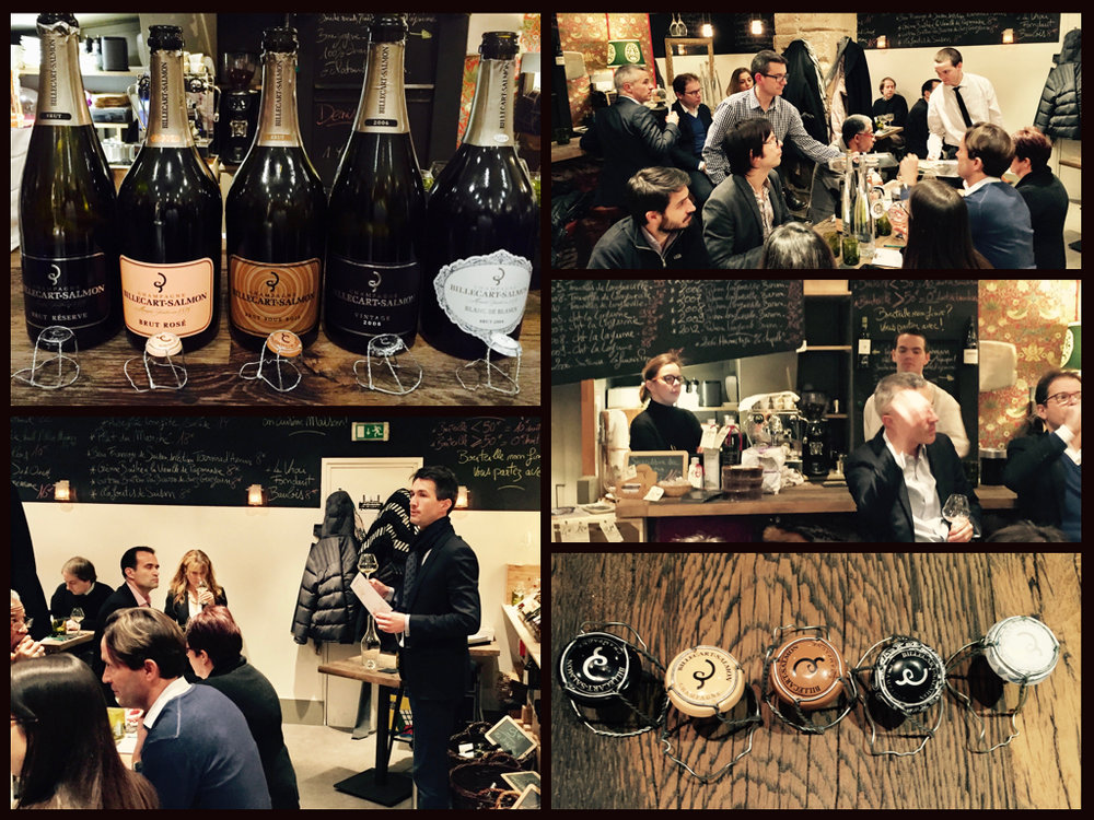 Dégustation Billecart-Salmon (Champagne) - 1er dec 2016 - avec Julien Dussert