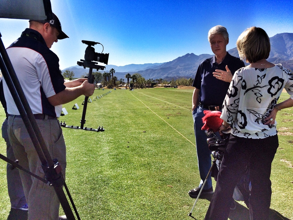 President Clinton for Golf Channel