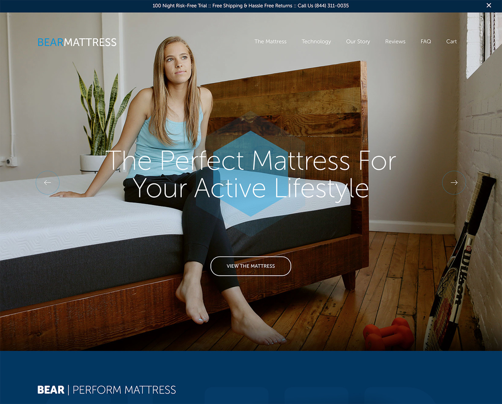 Bear Mattress Commercial Work Jennifer Lavelle Photography