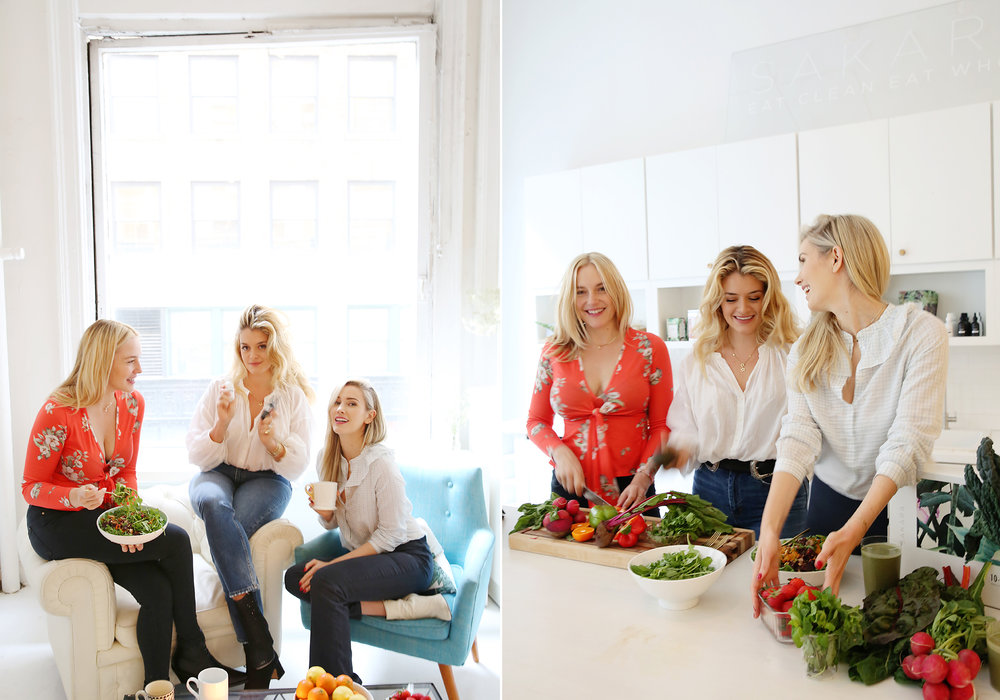 NYC based lifestyle and brand photographer JENNIFER LAVELLE PHOTOGRAPHY  -  Sakara Life and Daphne Oz