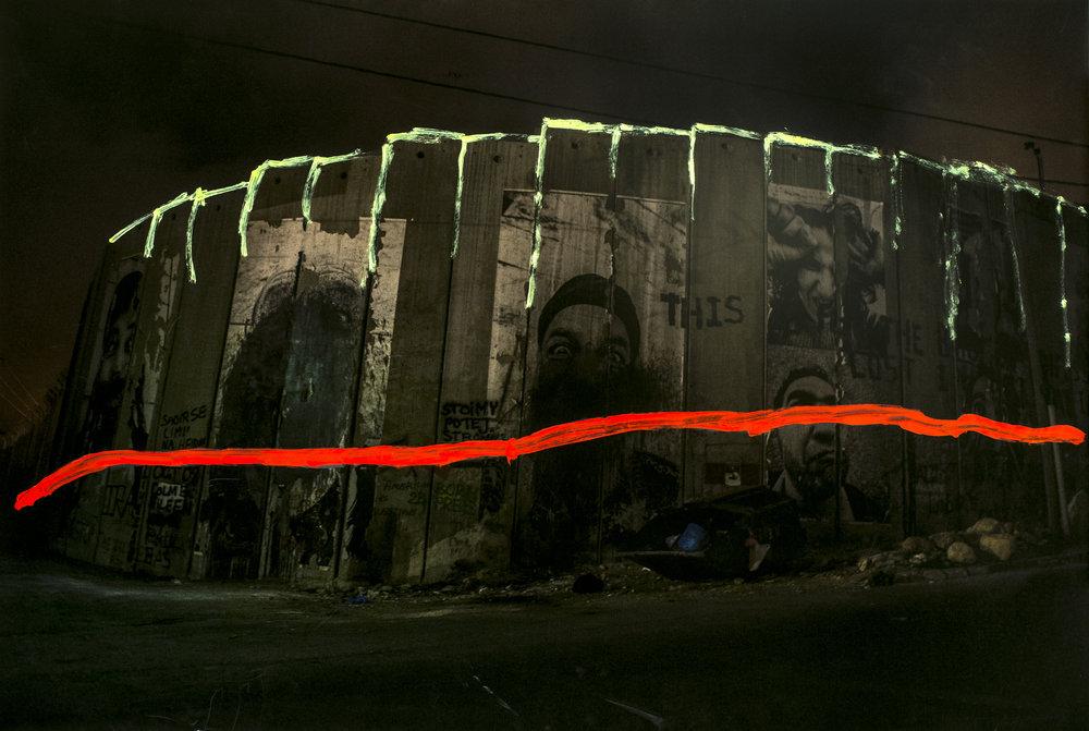 Israeli Security Barrier Bethlehem