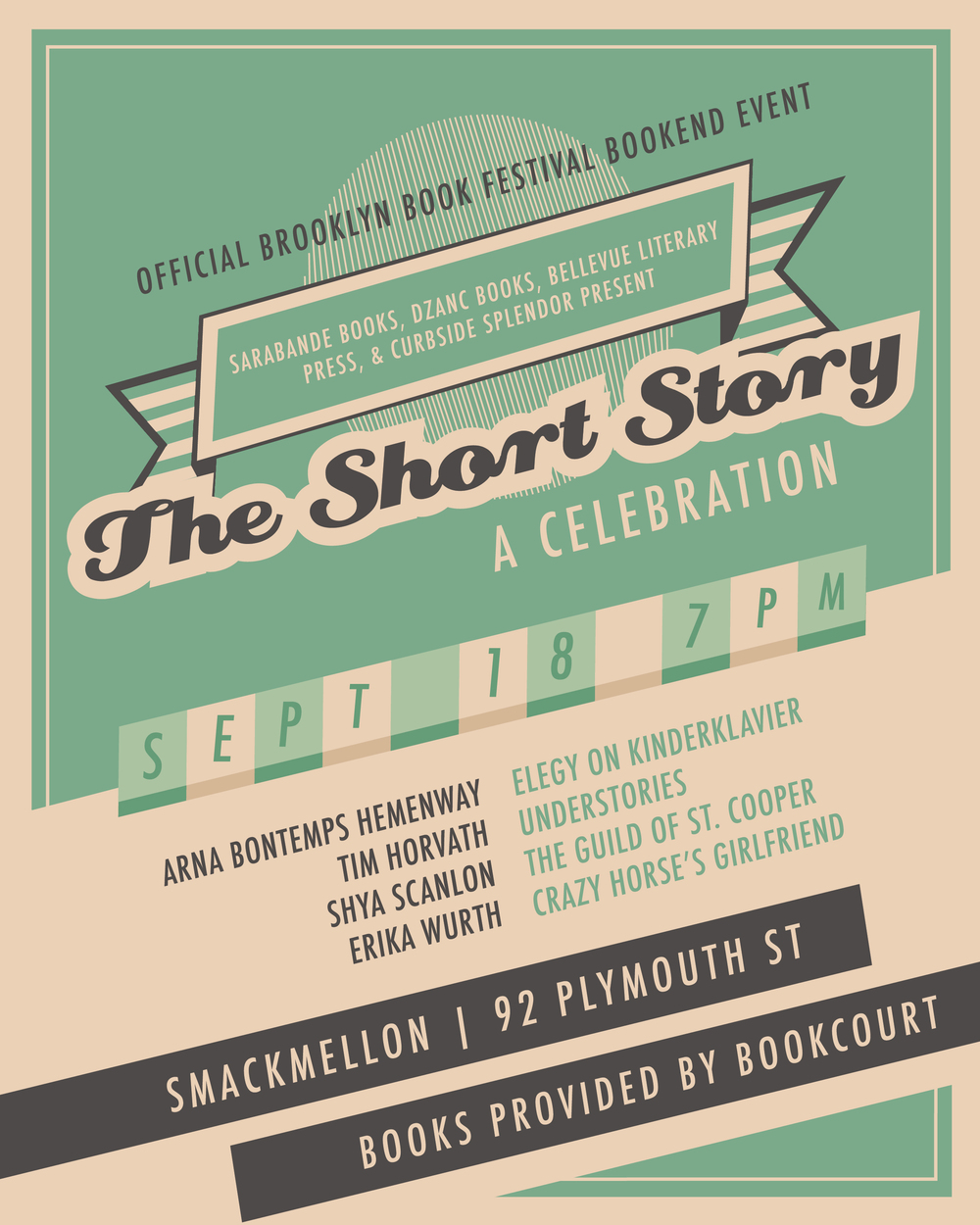Brooklyn Book Fest Event Poster