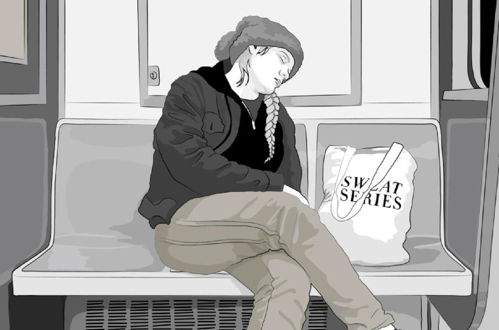 The Loneliness of the Subway Nap