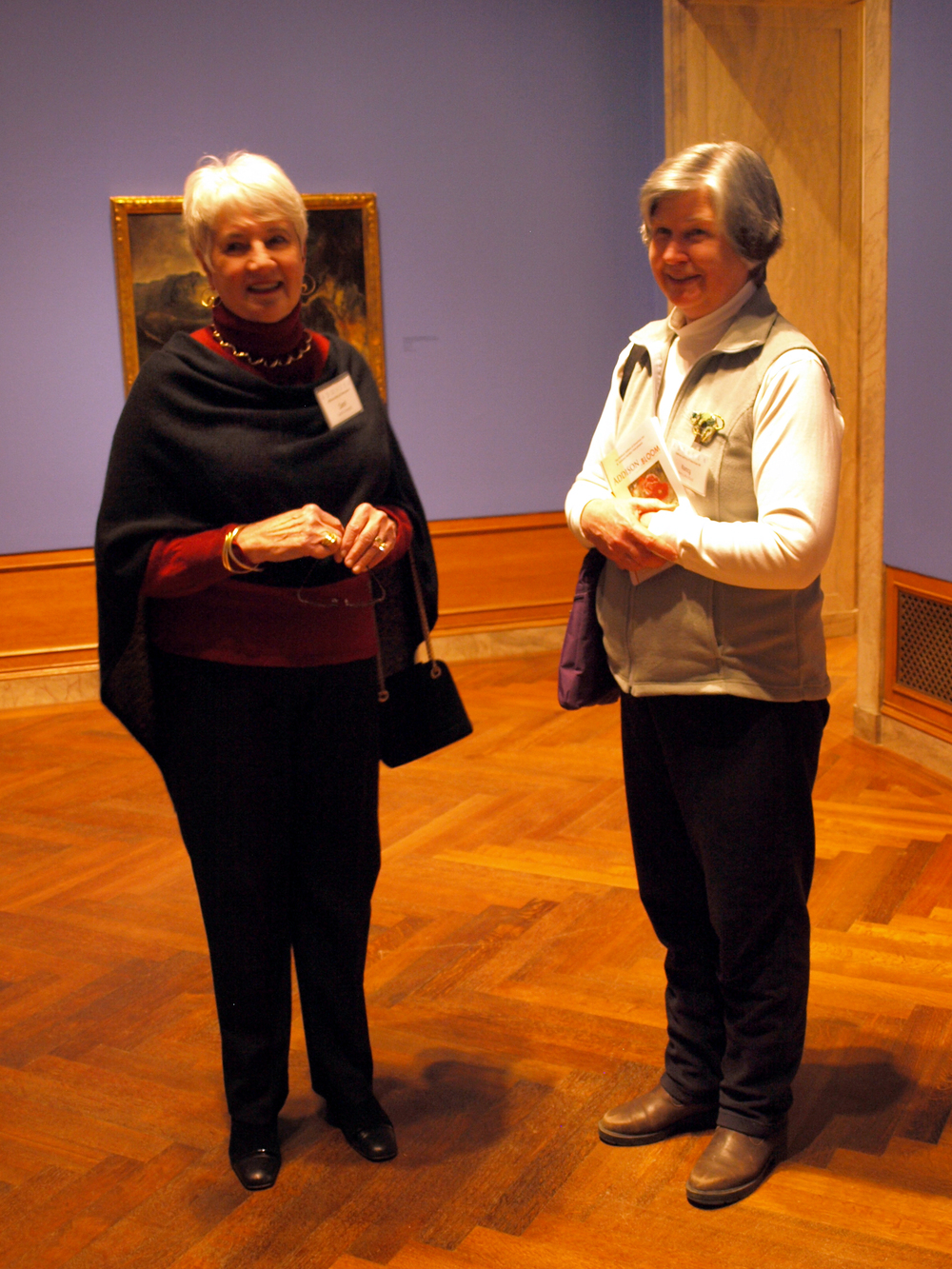 3-6-15 Carol Prentiss, Nancy Woolford.JPG