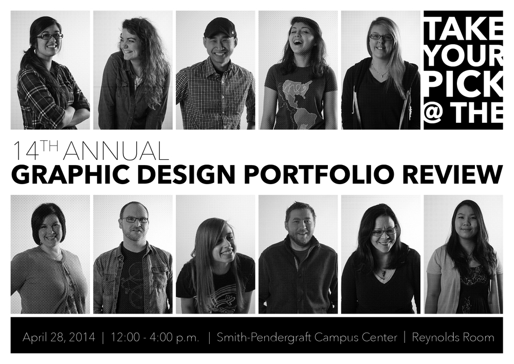 Portfolio Review Invite 2014