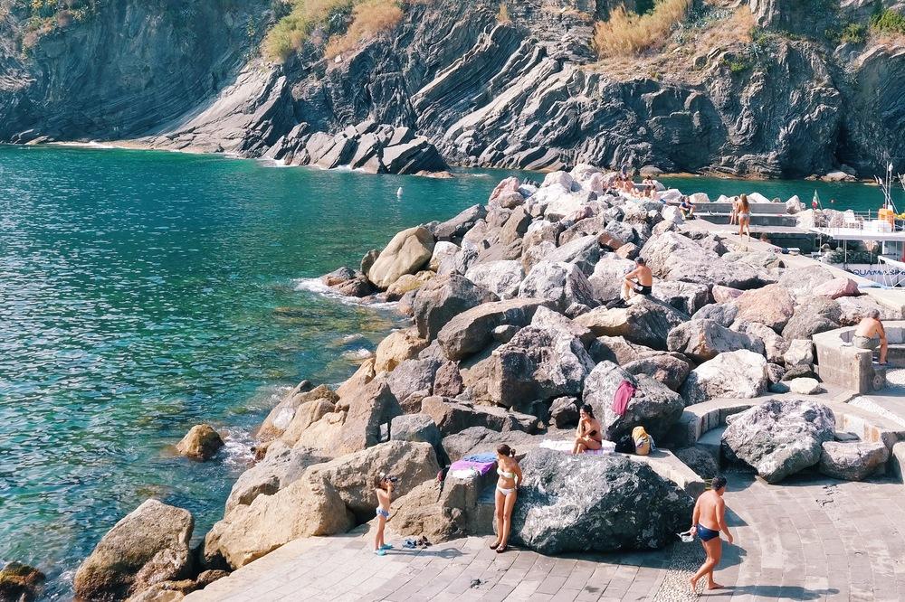 The marina in Vernazza, Cinque Terre, Italy