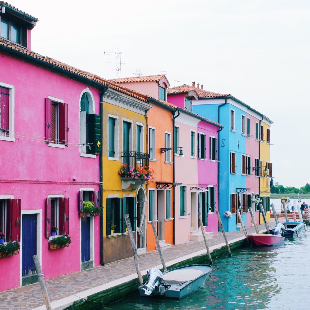 Colorful Burano, Italy taken with a Samsung NX500