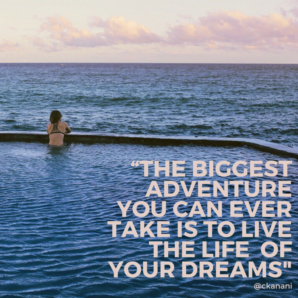 """The biggest adventure you can ever take is to live the life of your dreams."" #travelquote 