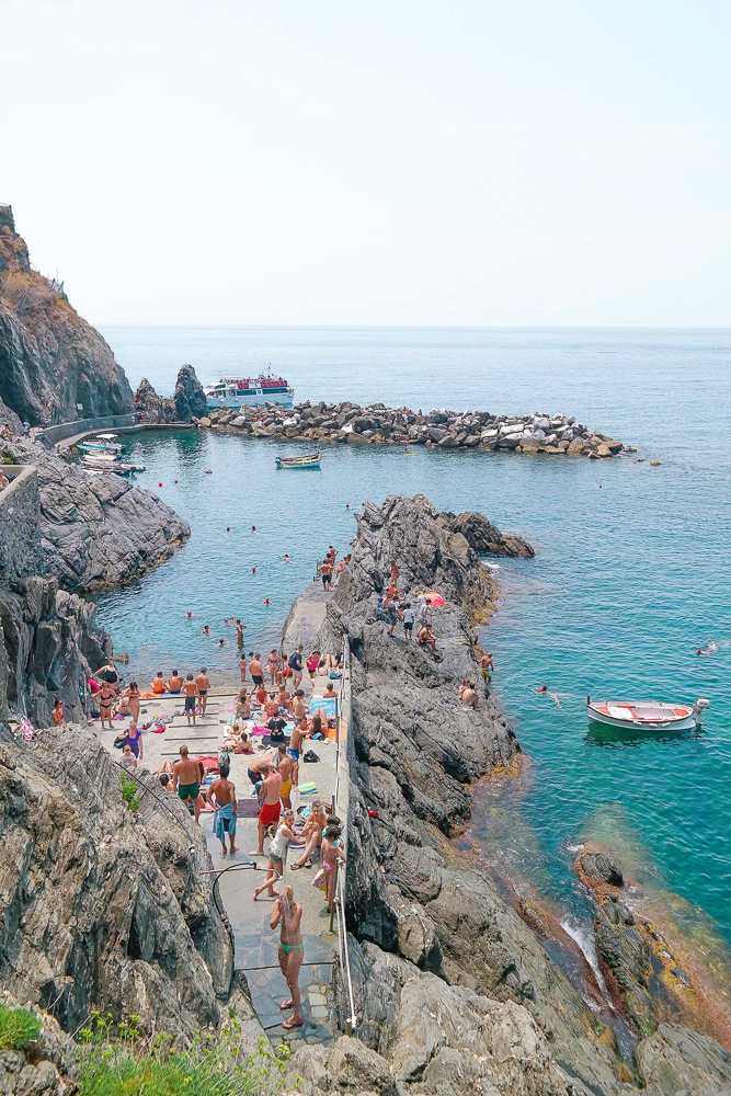 Manarola, the most beautiful of the five Cinque Terre villages