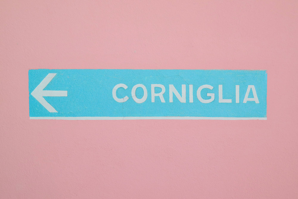 This way to Corniglia, Italy!
