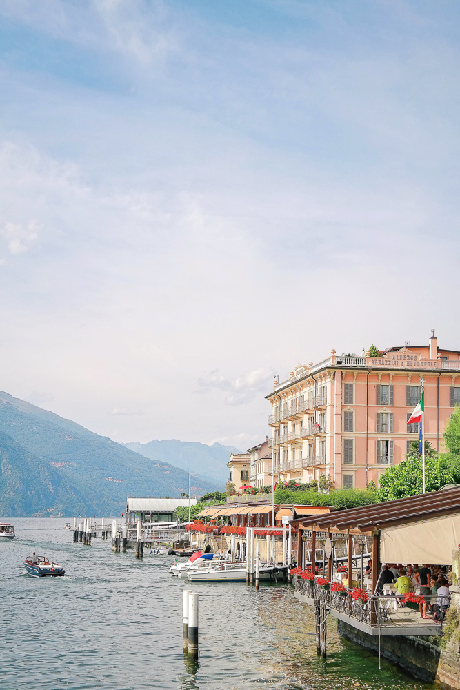 A waterfront hotel in Bellagio, Lake Como