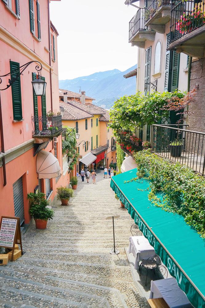 Bellagio in Lake Como, Italy