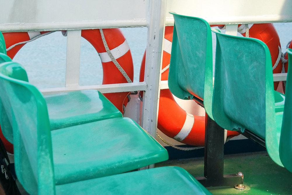 Get to Bellagio, Italy on Lake Como via ferry