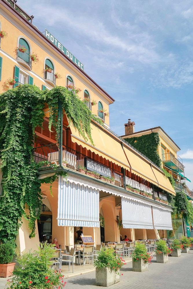 Lake Como hotel, Hotel Du Lac in Bellagio
