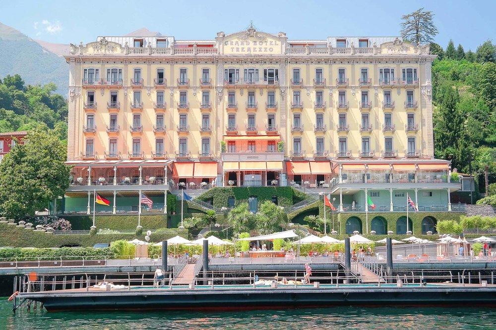 The Grand Hotel Tremezzo on Lake Como