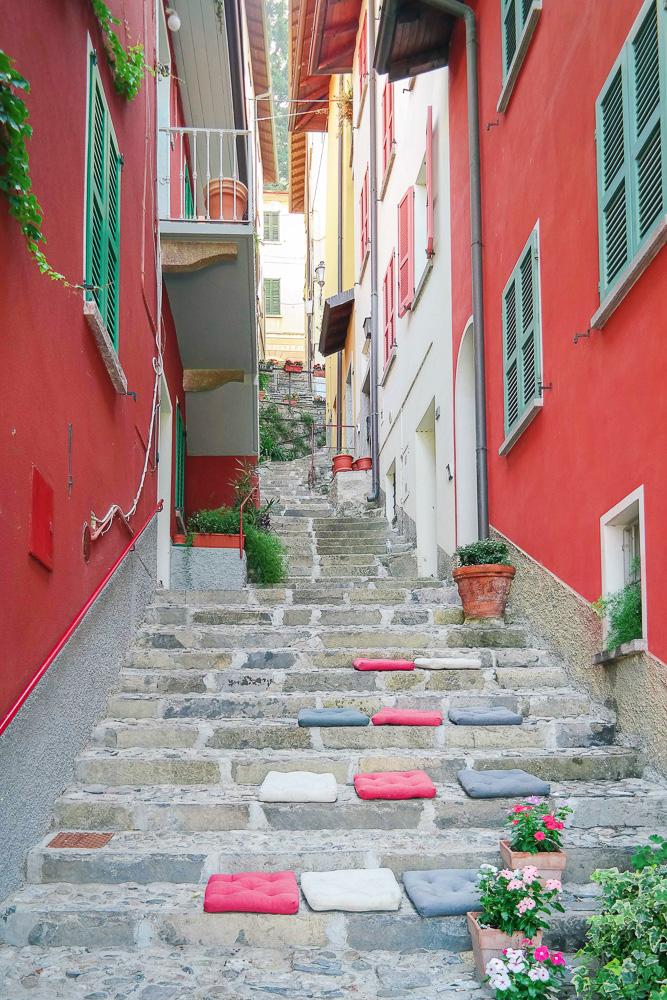 Alleyways in Lake Como