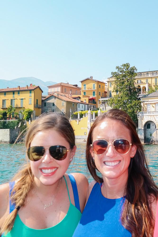 The prettiest boat views in Lake Como