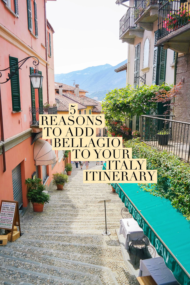 If you're heading to Italy, make sure not to miss Bellagio on Lake Como! Here's why...