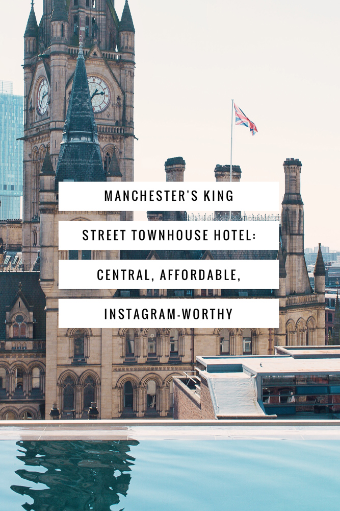 Where to sleep while visiting Manchester, England: King Street Townhouse Hotel