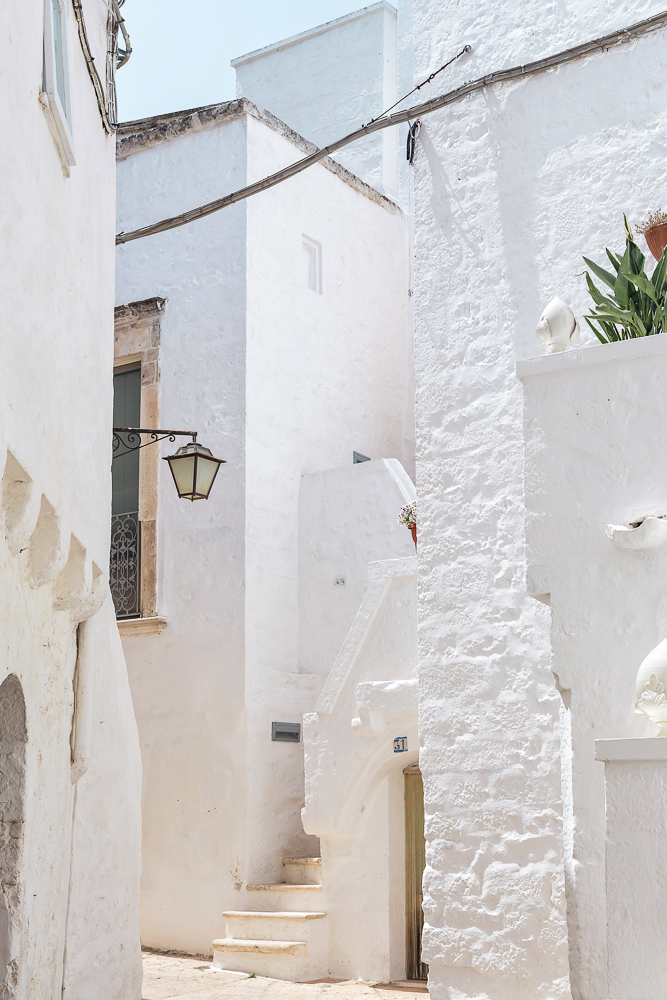 Cisternino, a beautiful whitewashed town in Puglia