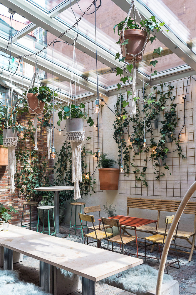 Kafe Magasinet in Gothenburg - a cafe and bar in a to-die-for venue. Instagram heaven!