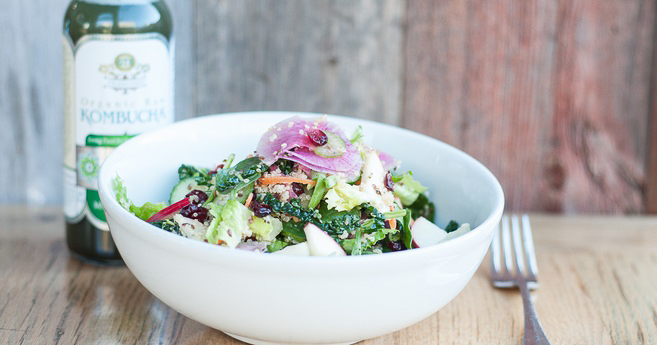 The detox salad from Blue Barn in San Francisco is to die for!