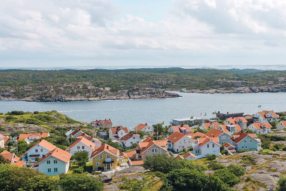 Picturesque Marstrand island