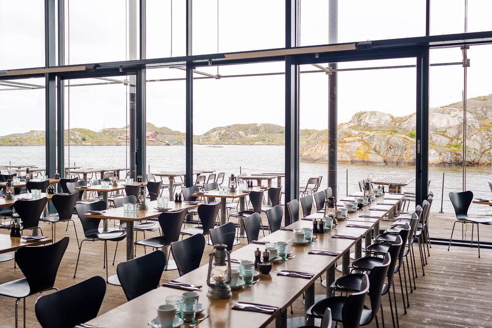 Restaurant Vatten at the Nordic Watercolor Museum