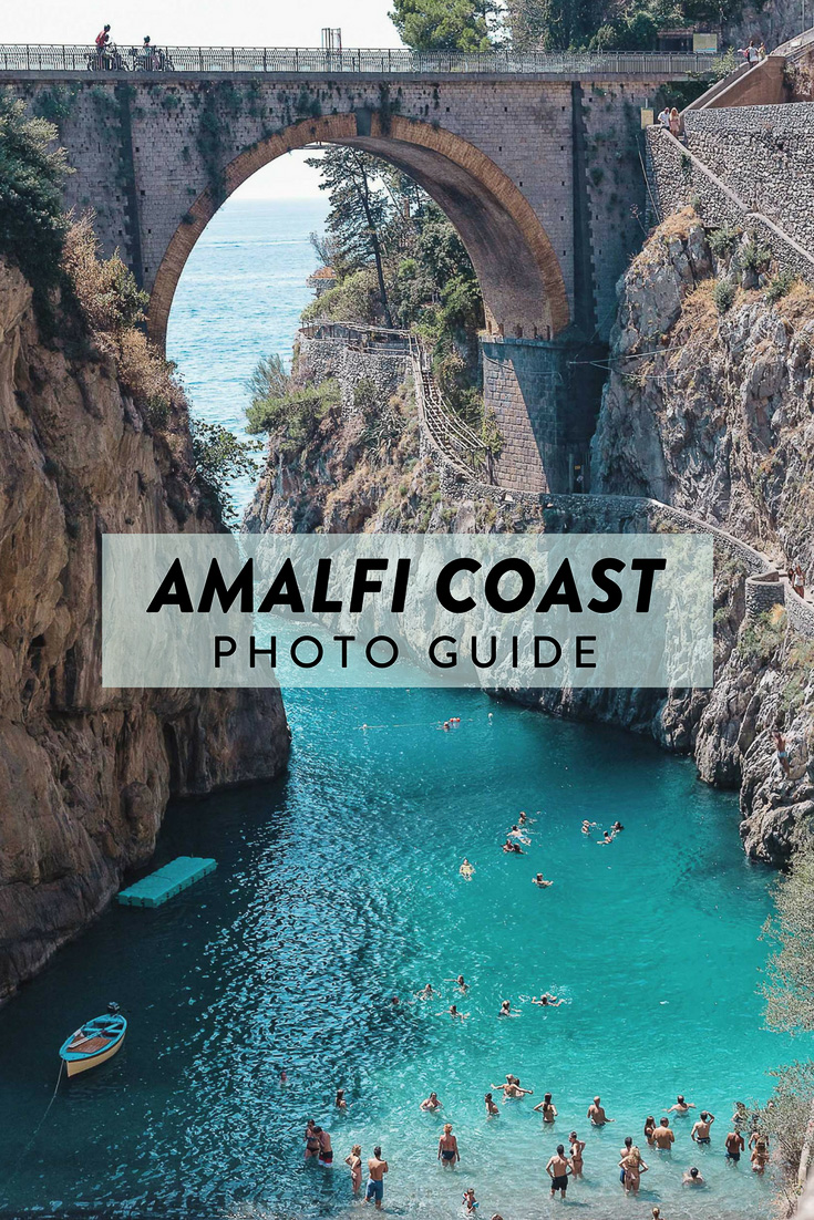 Amalfi Coast picture guide. Photos from my scooter tour including Positano, Amalfi, Atrani, Praiano, Furore, and more.