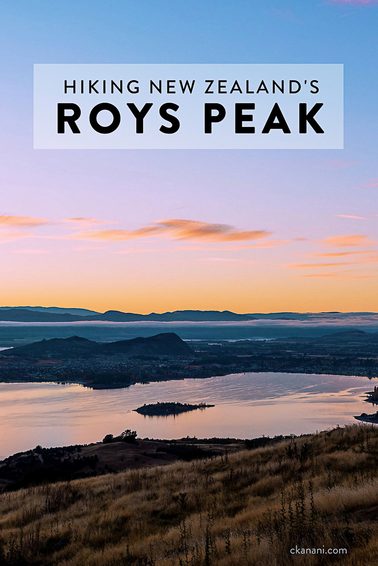 Everything you need to know about hiking New Zealand's Roys Peak.  Located on the south island in Wanaka, just north of Queenstown, this hike has a rewarding view that should not be missed!