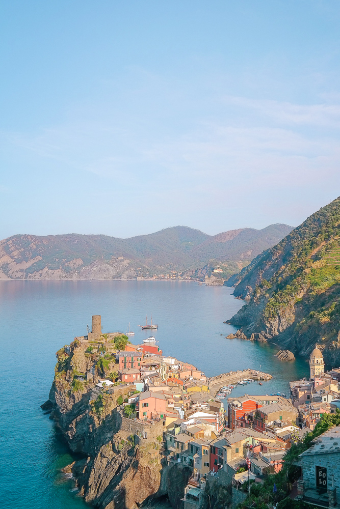 7 days in Europe itinerary idea: Cinque Terre + Florence, Italy