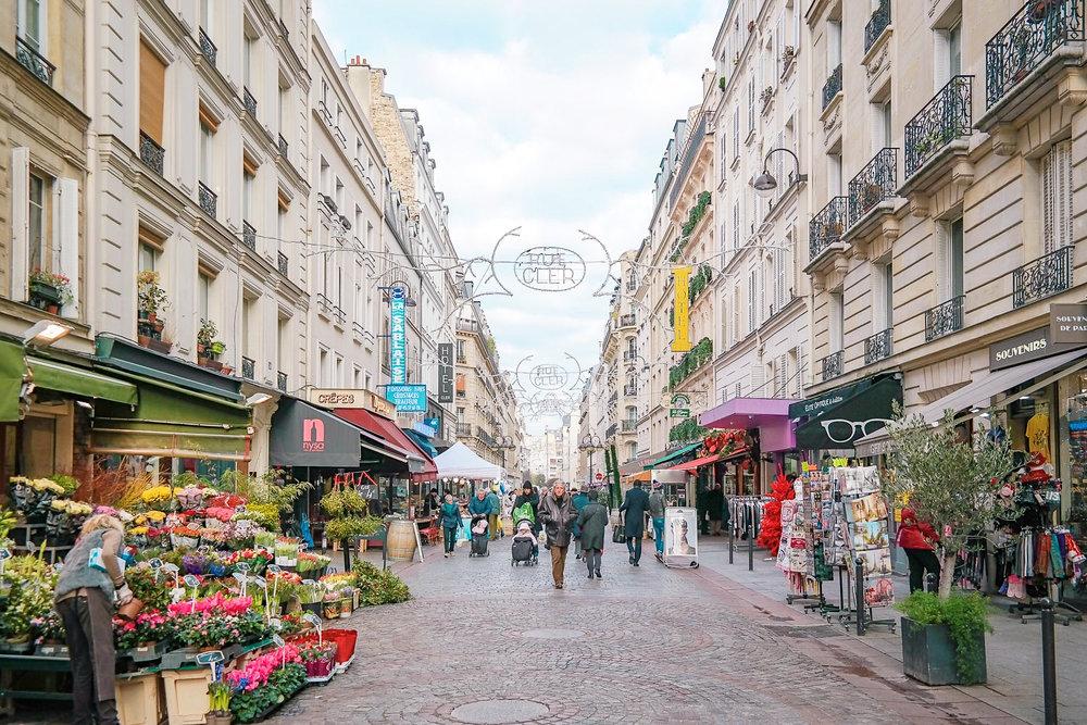 Rue Cler in Paris, my favorite street!