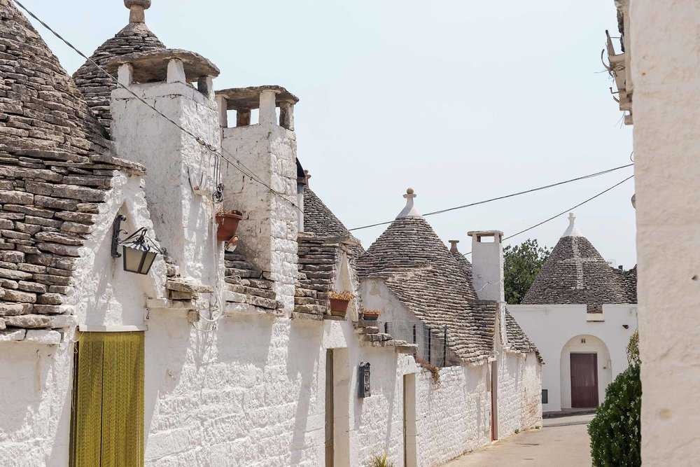 Beautiful Alberobello, Italy