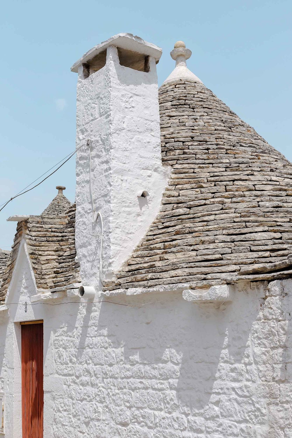 Trullo buildings in Alberobello, Puglia, Italy