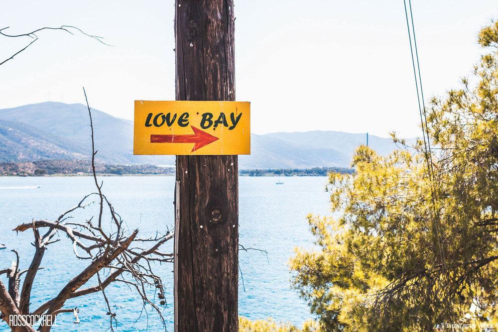 Love Bay in Greece
