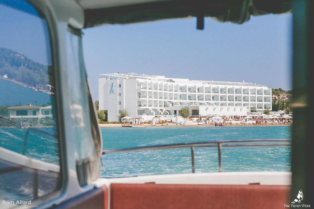 Nikki Beach in Porto Heli, Greece