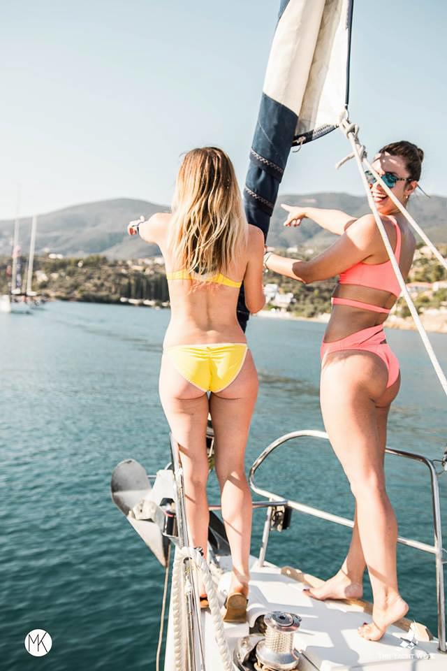 Setting sail at The Yacht Week Greece