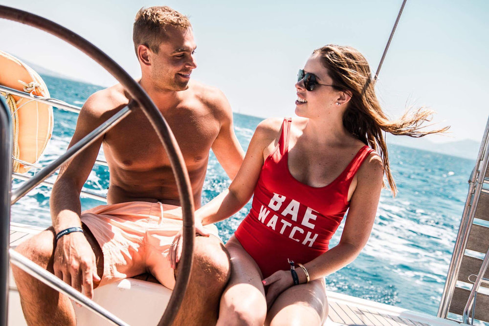 The Yacht Week regatta costume idea