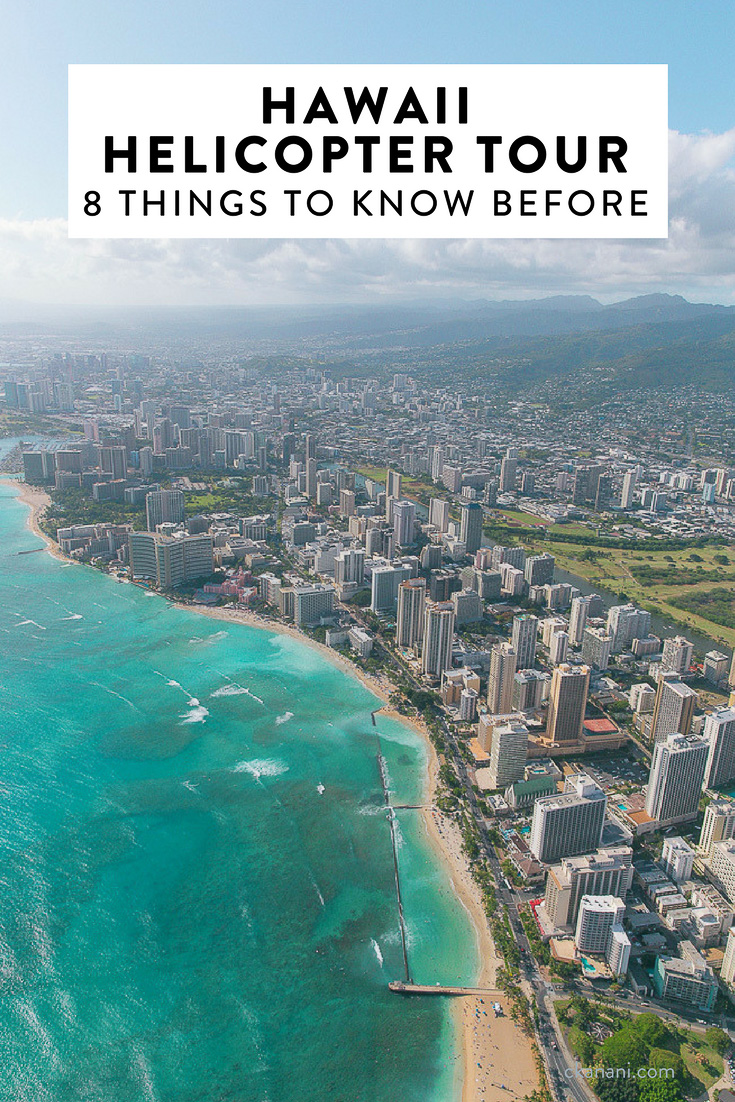 If you are planning a trip to Hawaii, one thing you should include on your itinerary is a helicopter tour. Here are 8 tips you should know before you book!