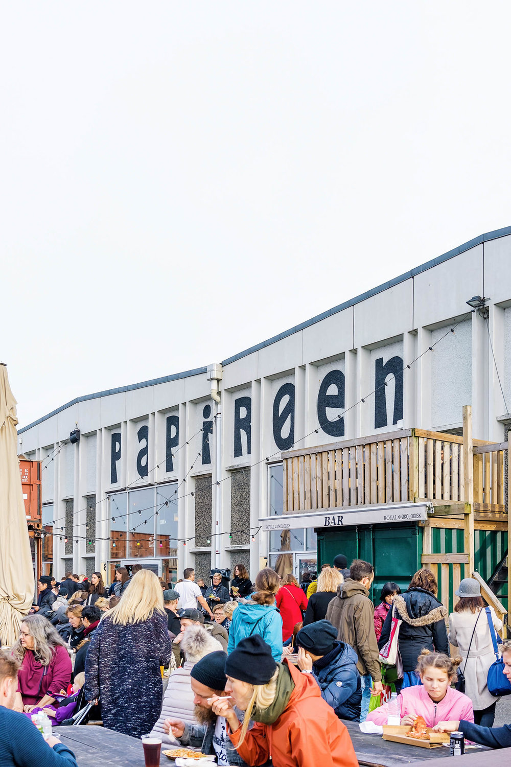 The Copenhagen street food market on Paper Island (Papirøen). A great place to grab lunch or dinner!