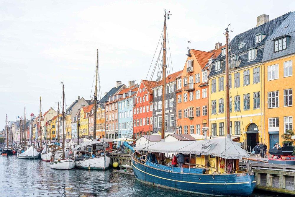 Nyhavn, Copenhagen's most iconic spot!