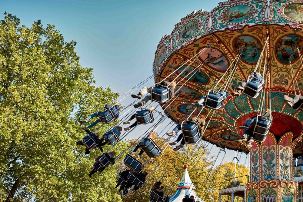 Tivoli Gardens in Copenhagen, a can't miss while visiting the city!